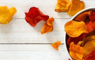 Chips de verduras receta