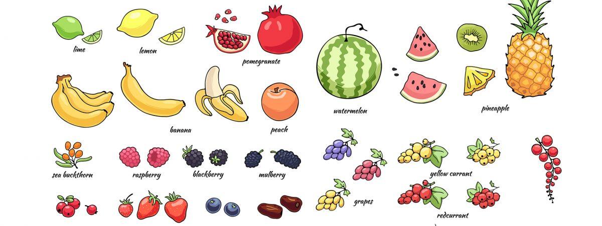 Las frutas más saciantes