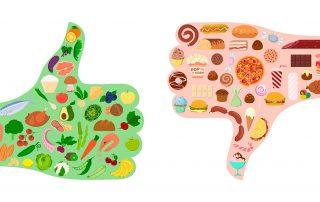 Mejores y peores alimentos para operación bikini